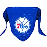 Hunter MFG Philadelphia 76ers Mesh Dog Bandana, Small
