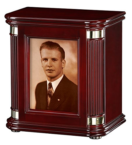 Howard Miller Honor II 800-173 (800173) Funeral Cremation Photo Urn, 270 inches-at Peace Memorials
