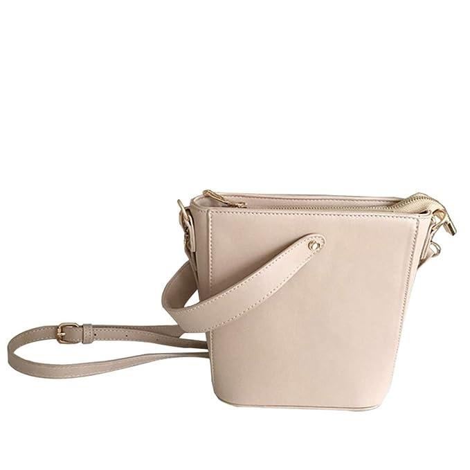 ... Mini Paquete Cuadrado Pequeño Bolso Bandolera Embrague Embrague Mujeres Diseñador Bolsos De La Cartera,Beige-16 * 9 * 20cm: Amazon.es: Ropa y accesorios