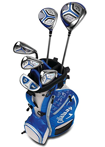 Callaway Golf 2018 Xj Junior Set, Level 2, 6 Piece Set, Right Hand, Blue