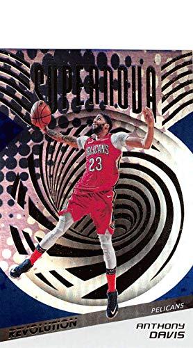 Supernova Single (2018-19 Panini Revolution Supernova Basketball #1 Anthony Davis New Orleans Pelicans Official NBA Trading Card By Panini)