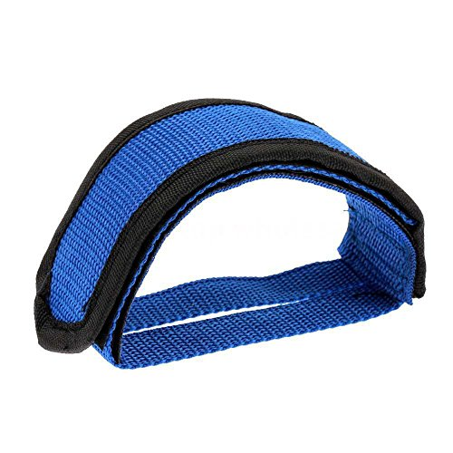 Fixie BMX Fixed Gear Bike Outdoor Bicycle Racing Riding Adhesive Straps Pedal Toe Clip Belt Nylon + Canvas (Best Racing Cycle In India)