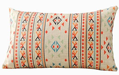 Bohemian Style Colorful Exotic Mandala Boho Style Striped Tr