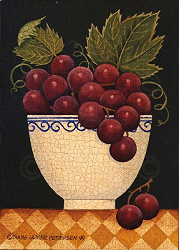 Cup O Grapes by Diane Ulmer Pedersen Fruit Still Life Kitchen Print Poster 12x16