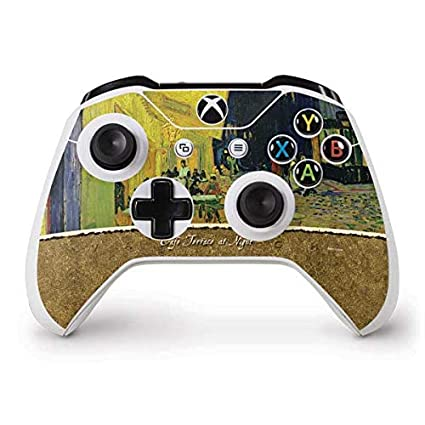 Amazon com: Skinit Cafe Terrace at Night Xbox One S Controller Skin