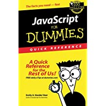JavaScript For Dummies Quick Reference