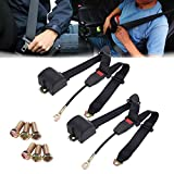 2 Set Universal Car Truck 3 Point Safety Auto Car
