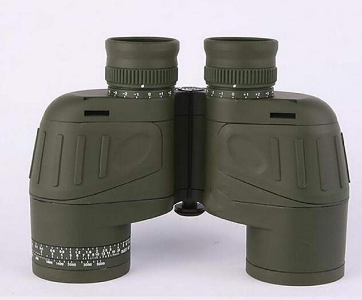 CTO Telescope 7X50 Binoculars Adult and Internal Range Finder Compass Waterproof Army Green Navigation, Boating, Fishing, Water Sports,A,Telescope by CTO (Image #5)
