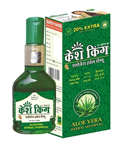 Kesh King Aloevera Herbal Shampoo, 120ml - Sensations Scented Shampoo