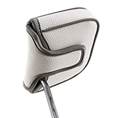 Big Teeth Heel Shaft Golf Square Mallet Putter Cover Headcover Club Protector For High MOI Large Size Equipment Model TaylorMade Daddy Long Leg Scotty Cameron 6M DBSpecification:●CLASSIC DESIGN:solid colour scheme on classic design.●DON'T FIT...