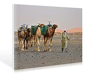 Little Caravan–Morocco de Hady Khan Dani, lienzo, 119 x 80cm