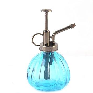 owikar cristal agua Spray Botella Vintage calabaza botella de Spray de riego boquilla de cobre Bonsai