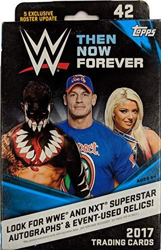 2017 Topps WWE Then Now Forever Hanger Box |Featuring John Cena Tribute, Daniel Bryan, More! (Daniel Bryan Case)