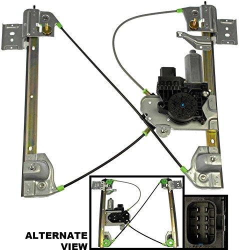 APDTY 852183 Window Motor Regulator Assembly Middle Midgate 04-05 GMC Envoy XUV Replaces 15112482, 15765788