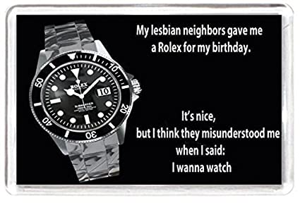 d4e3391290d53 FRIDGE MAGNET Quotes Saying Collectors Gift Present Novelty Lesbian ...