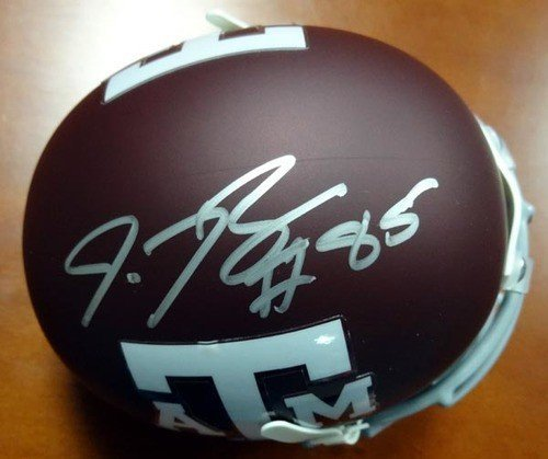 Red Bryant Signed Texas AandM Aggies Replica Mini Helmet - Autographed NCAA College Football - Autographed Mini Helmets Ncaa