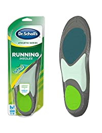 Dr. Scholl's Athletic Series Running Insoles for Men, Small, 1 Pair, Size 7.5-10