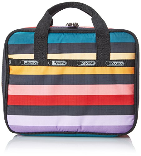 LeSportsac Lunch Box Top-Handle Handbag, Wide Ruled, One Size