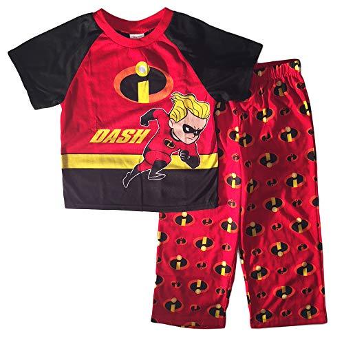 Disney Pixar Incredibles Little Boys Toddler Pajama Set -