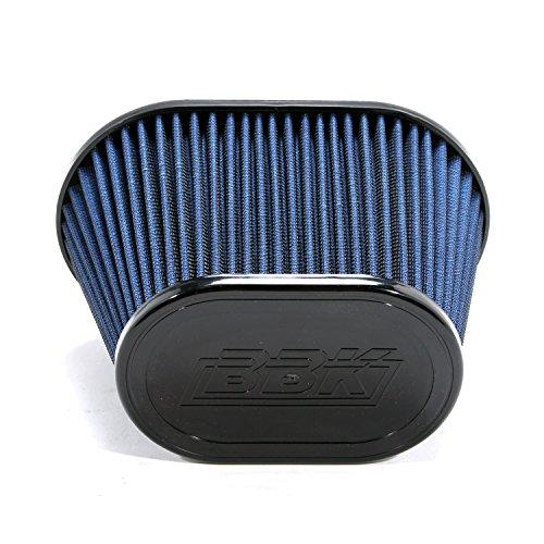 Bbk Air Intake - BBK 1741 BBK Cold Air Intake Replacement High Flow Washable Air Filter - Blue