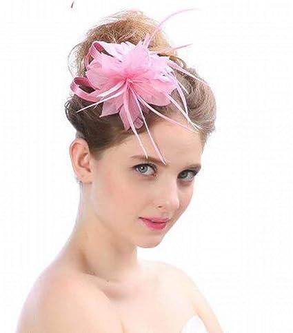 c99516ac11741 Eeayyygch Sombrero - señoras Tocado de otoño e Invierno Sombreros de Novia  Europeos y estadounidenses Británica
