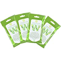 Wireless Wipes 4-Pack Bundle - Rosemary Peppermint - Cell Phone and Portable Electronic Device Sanitizing Wipes