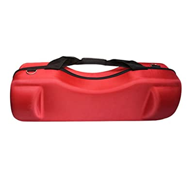 "TOPCHANCES EVA Hard Carrying Bag Case for 6.5"" Hoverboards Self Balancing Electric Scooter (Red) : Sports & Outdoors"