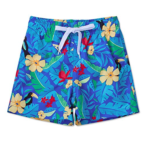 Uideazone Toddler Kids Boys Fast Drying Summer Swim Trunks Surf Board ()