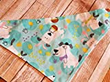 Easter Dog Bandana Slide on Reversible