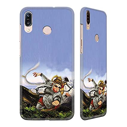 df8cededdc5 YuBingo Mobile Case for Asus Zenfone Max Pro M1 | Lord Hanuman Flying  Through Mountains