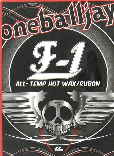 OneBall Jay F1 All Temp Ski/Snowboard Wax (Temp Wax)