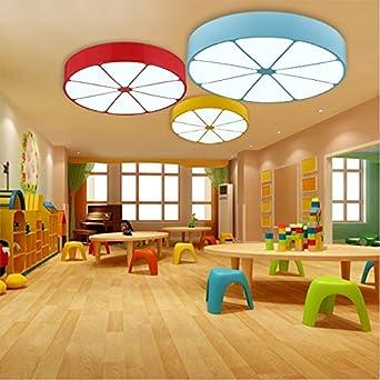 Kinderzimmer Beleuchtung Ideen Zitrone Runden Led Lampe Schlafzimmer Baby  Auge Leuchtet Im Kindergarten Für Jungen