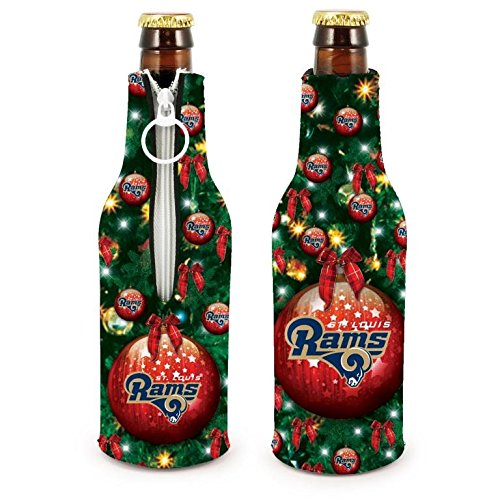 (NFL Football 2015 Christmas Ugly Party Bottle Suit Holder Cooler 2-Pack (St Louis Rams))