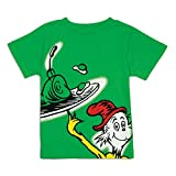 Bumkins Dr. Seuss Short Sleeve Toddler Tee, 4T, Green Eggs