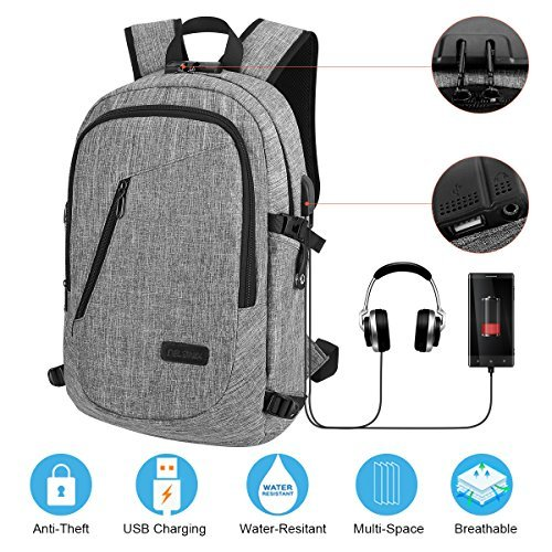 Review Travel Laptop Backpack Business