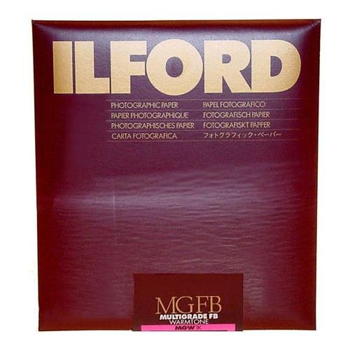 Ilford Multigrade FB Fiber Based Warmtone VC Variable Contrast Black & White Enlarging Paper - 11x14'' - 10 Sheets - Matte Surface by Ilford