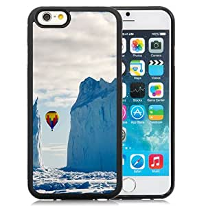 Popular And Durable Designed Case For iPhone 6 4.7 Inch TPU With Hot Air Balloon In The Mountains Phone Case