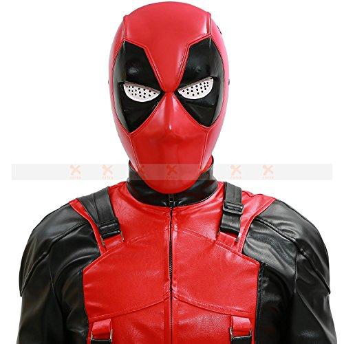 [XCOSER Deluxe DP Mask Helmet PVC Half Face Mask For Hot Movie Cosplay 2016 DIY version] (Top Diy Halloween Costumes 2016)