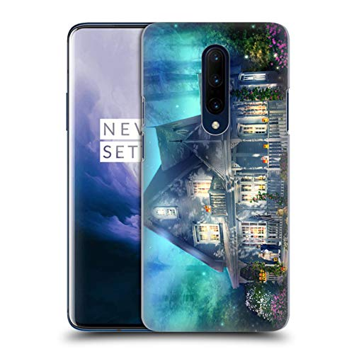 Official Joel Christopher Payne Halloween Lane Enchanted Places Hard Back Case Compatible for OnePlus 7 Pro