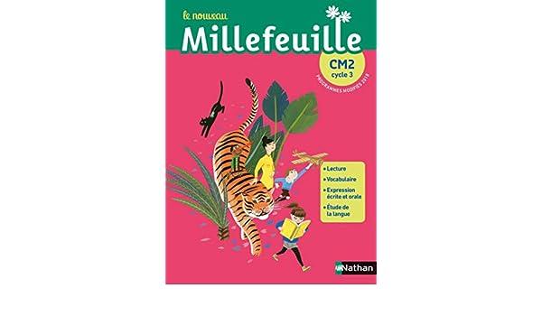 Francais Cm2 Nouveau Millefeuille Manuel Collectif