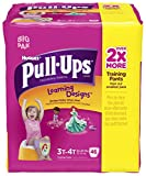 Health & Personal Care : Huggies Pull-Ups Learning Designs Training Pants - Girls - 3T-4T - 46 ct