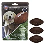 Pets First NFL SEATTLE SEAHAWKS DOG FOOD Snack Treat Bone-Free. Dog Training Cookies Tasty Biscuits for Dog Rewards. Provides Healthy Dog Teeth & Gum, Soy-Free, Gluten-Free.