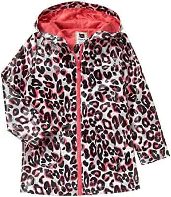 Gymboree Big Girls' Leopard Raincoat