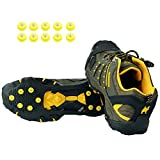 Ice Grips,Crampons Non-Slip Ice & Snow Grips Cleat Over...