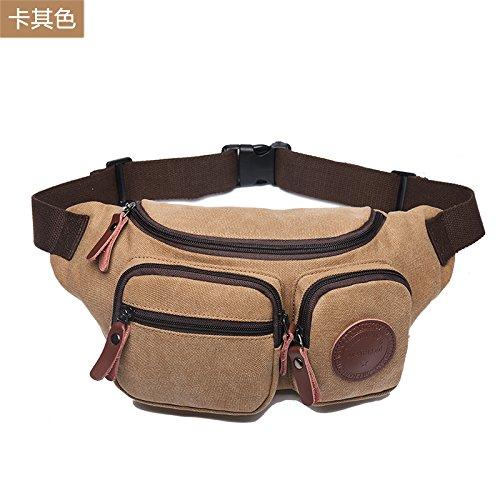 ERSANWU Multifunktionale Tasche für für für Männer Umhängetasche Umhängetasche Sporttasche Brusttasche lässige Canvas Tasche B07Q3VTL82 Rucksackhandtaschen Überlegene Materialauswahl e53913