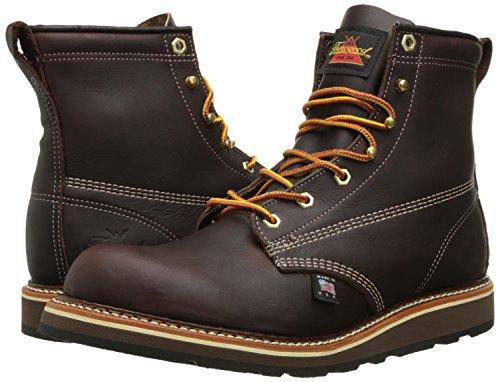 Thorogood American Heritage 6'' Plain Toe Rubber Boot, Walnut, 9.5 D US by Thorogood (Image #6)