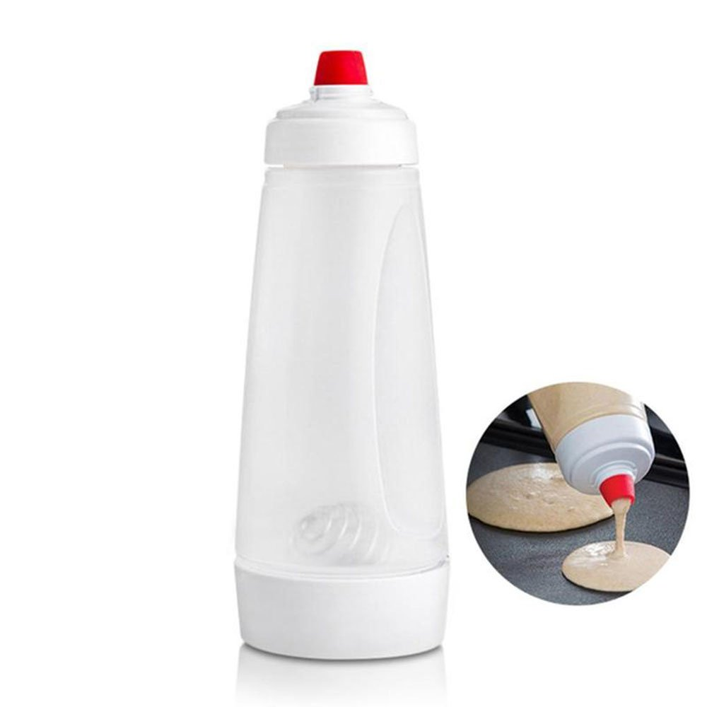 Batter Mixing Bottle Cupcake Muffin Tool Pancake Dispenser Waffles Batter Dispenser Mix Bottle Kitchen Cake Baking Cookie Tool by Darnell Nehemiah