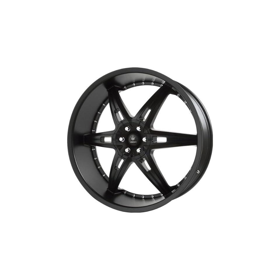 VERDE   allusion   24 Inch Rim x 9.5   (5x4.5/5x4.75) Offset (35) Wheel Finish   semigloss black Automotive