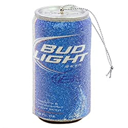 Budweiser Bud Light Beer Can Christmas Ornament