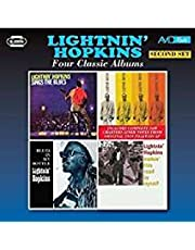 Four Classic Albums: Sings The Blues / Lightnin Hopkins / Blues In My Bottle / Walkin This Road